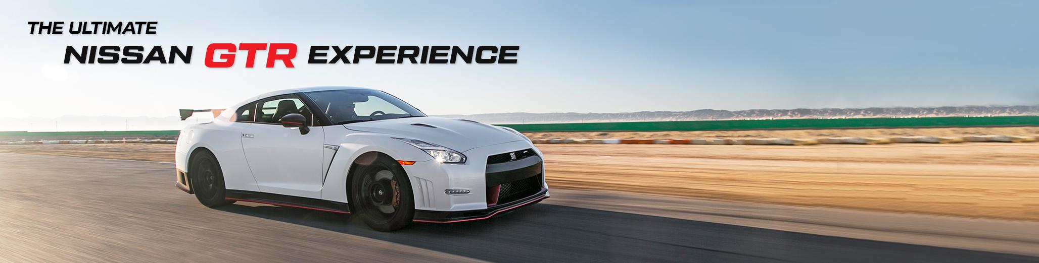 Nissan GTR Supercar Experience Banner